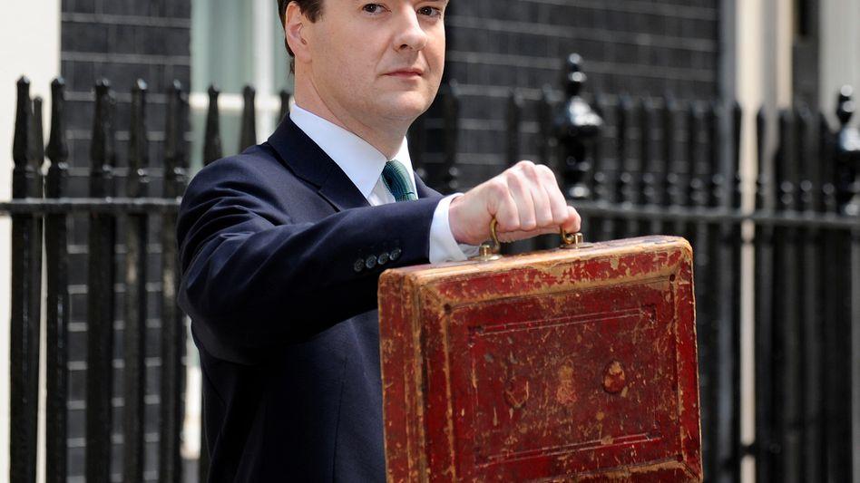 "Schatzkanzler Osborne: ""Hart, aber fair"""