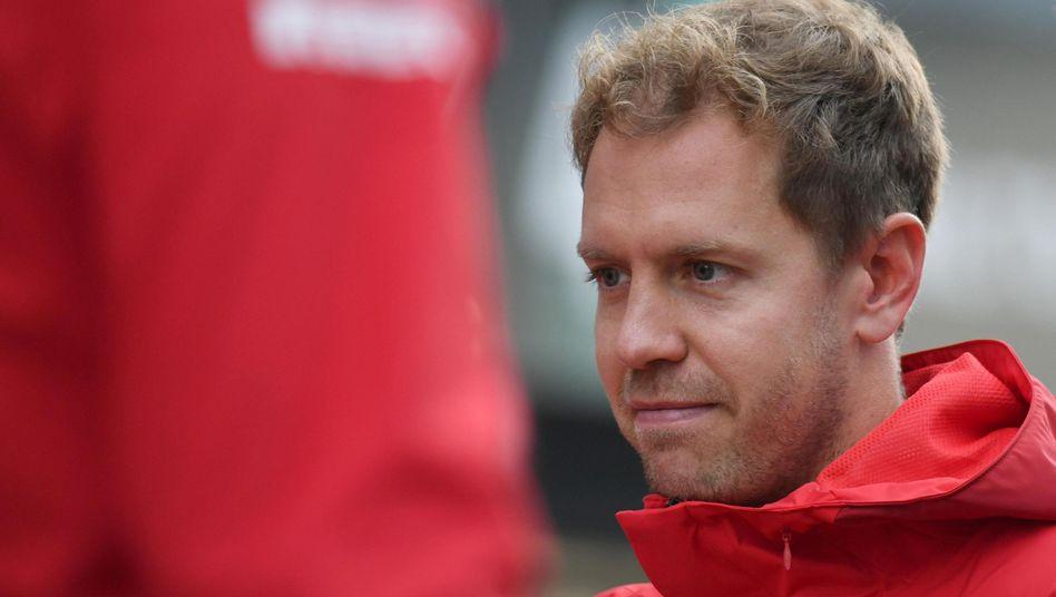 Sebastian Vettel ist nur noch die Nummer zwei bei Ferrari