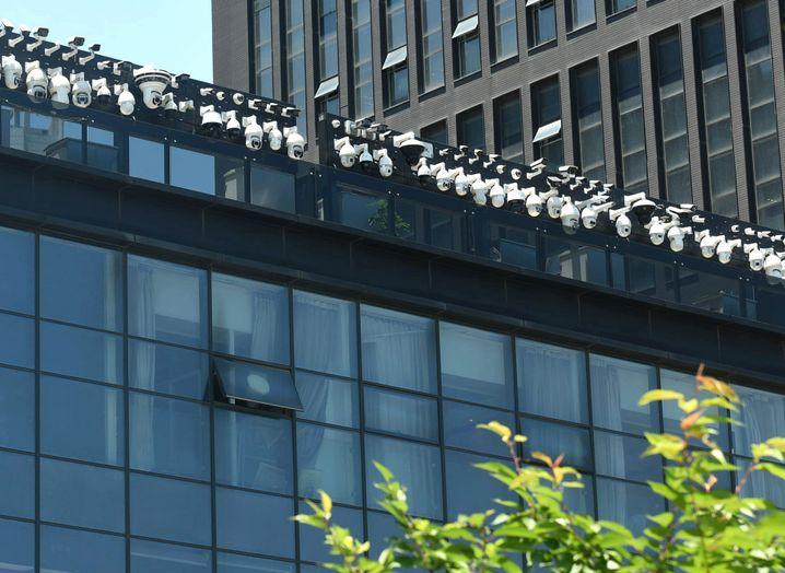 """Mit Überwachungskameras gespicktes Bürogebäude in Hangzhou: """"Die Hochschulen erleben eine neue Welle der Gleichschaltung"""""""