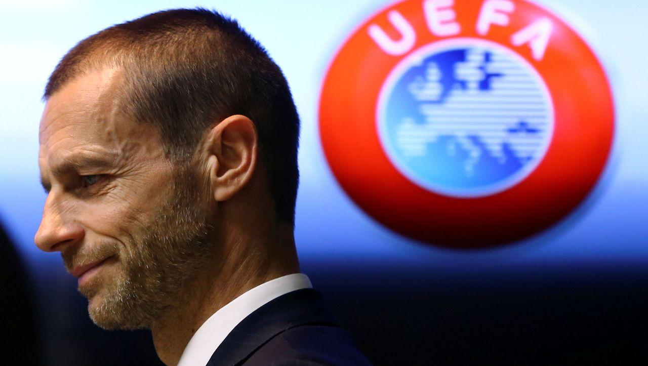 Uefa-Präsident droht Klubs mit Europapokalausschluss - DER SPIEGEL - Sport