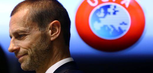 Belgien: Uefa-Präsident Ceferin droht Klubs mit Europapokalausschluss