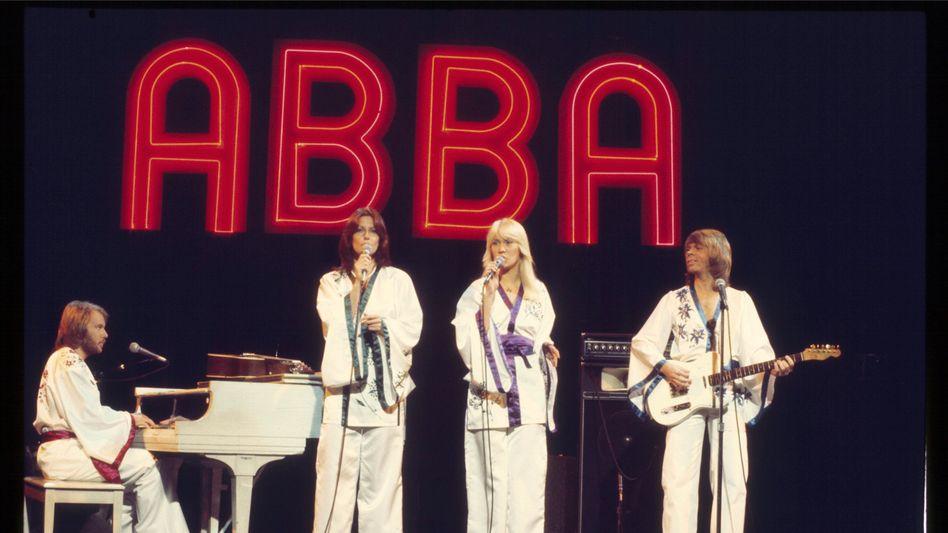 Abba in den Siebzigern: Kommen als Hologramme auf die Bühne zurück
