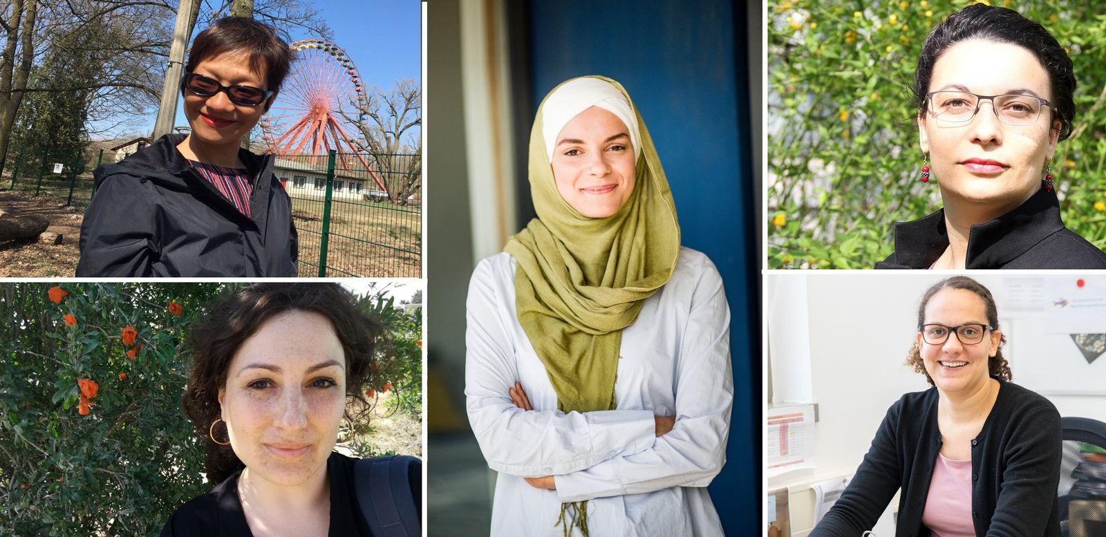 EINMALIGE VERWENDUNG Integration Frauen