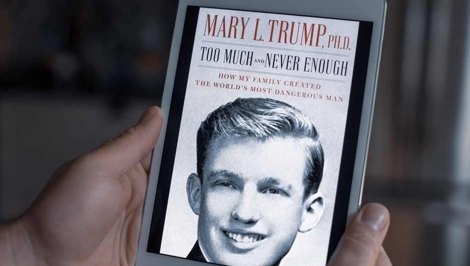 """Trump-Buch """"Too Much and Never Enough"""" in der E-Book-Version"""