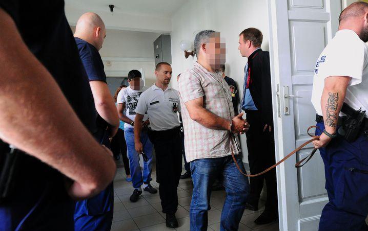Festgenommener mutmaßlicher Schlepper: Unterste Ebene