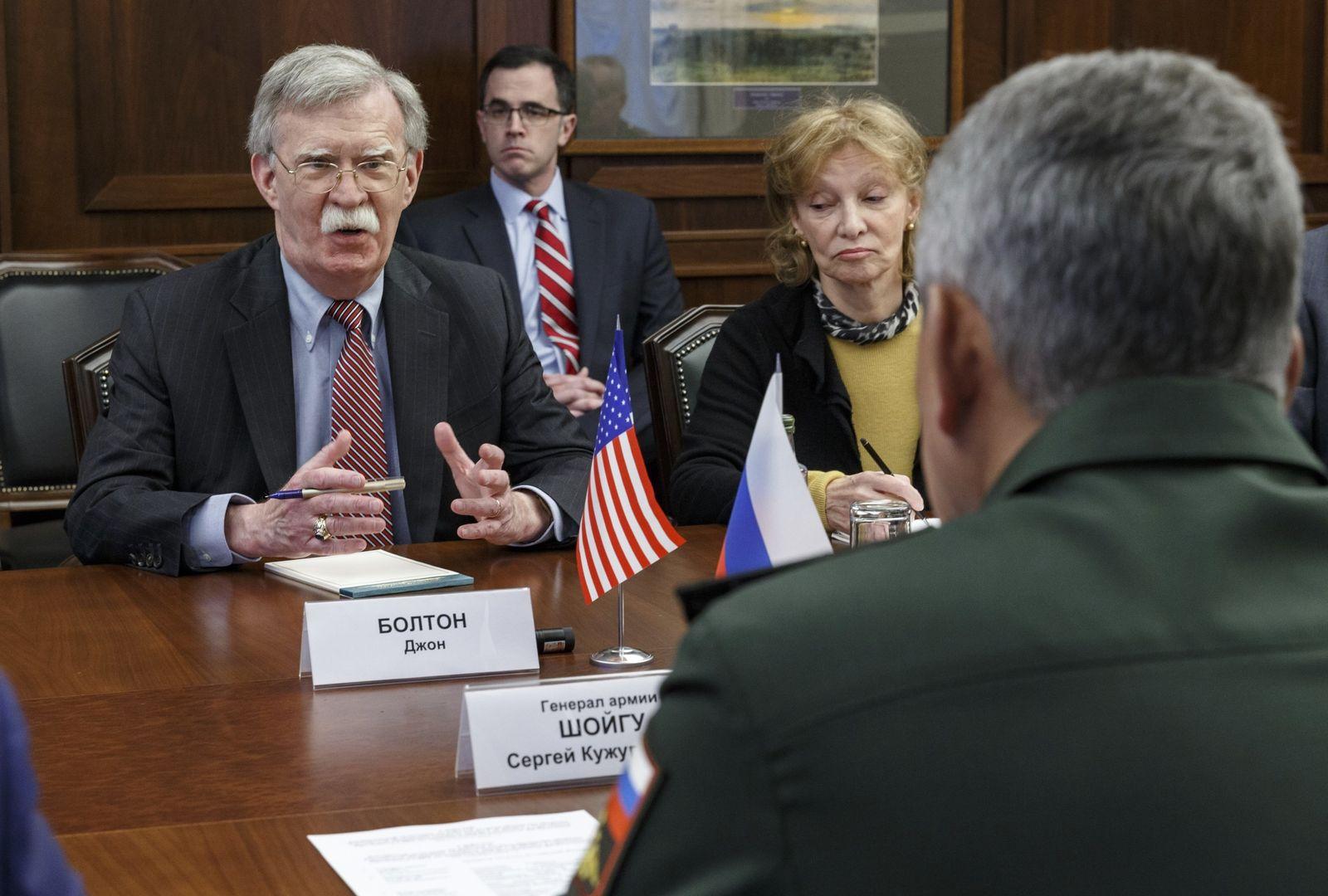 US-Sicherheitsberater Bolton in Moskau