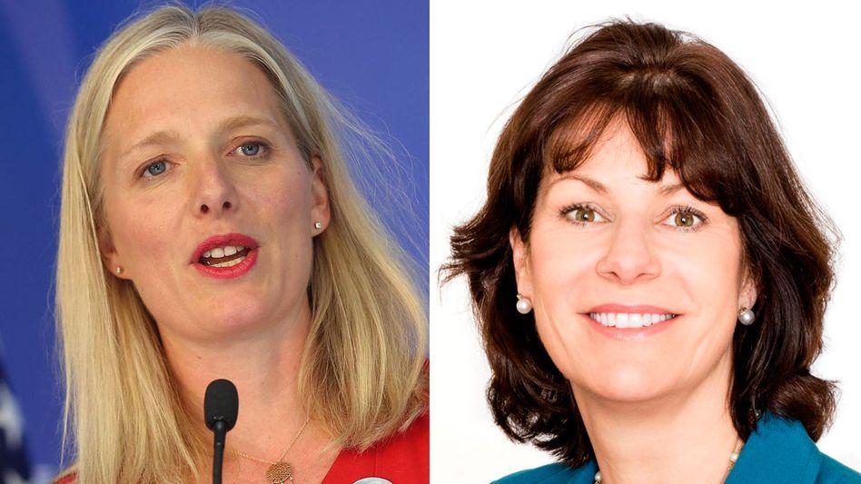 Kanadas Umweltministerin Catherine McKenna (links) und ihre britische Kollegin Claire Perry
