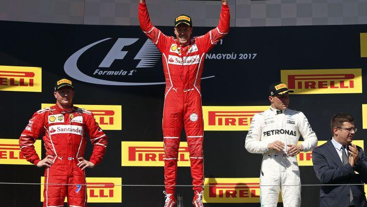Vettels Sieg in Ungarn: Doppelsieg und Doppelorder
