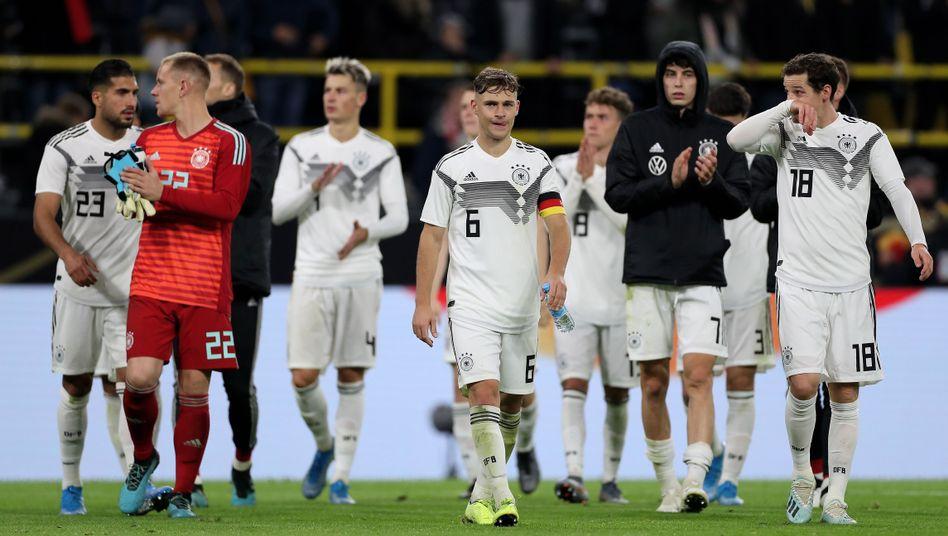 Kapitän Joshua Kimmich und die deutsche Nationalmannschaft
