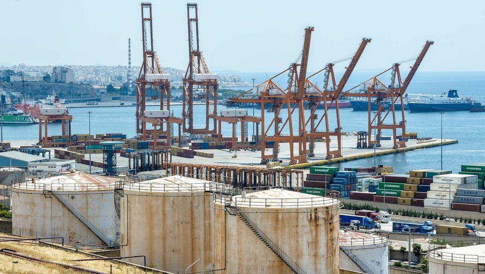 Hafen von Piräus: Neue Privatisierungspläne
