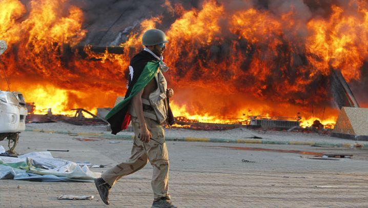 Kampf gegen Gaddafi: Tripolis nach dem Rebellen-Sturm