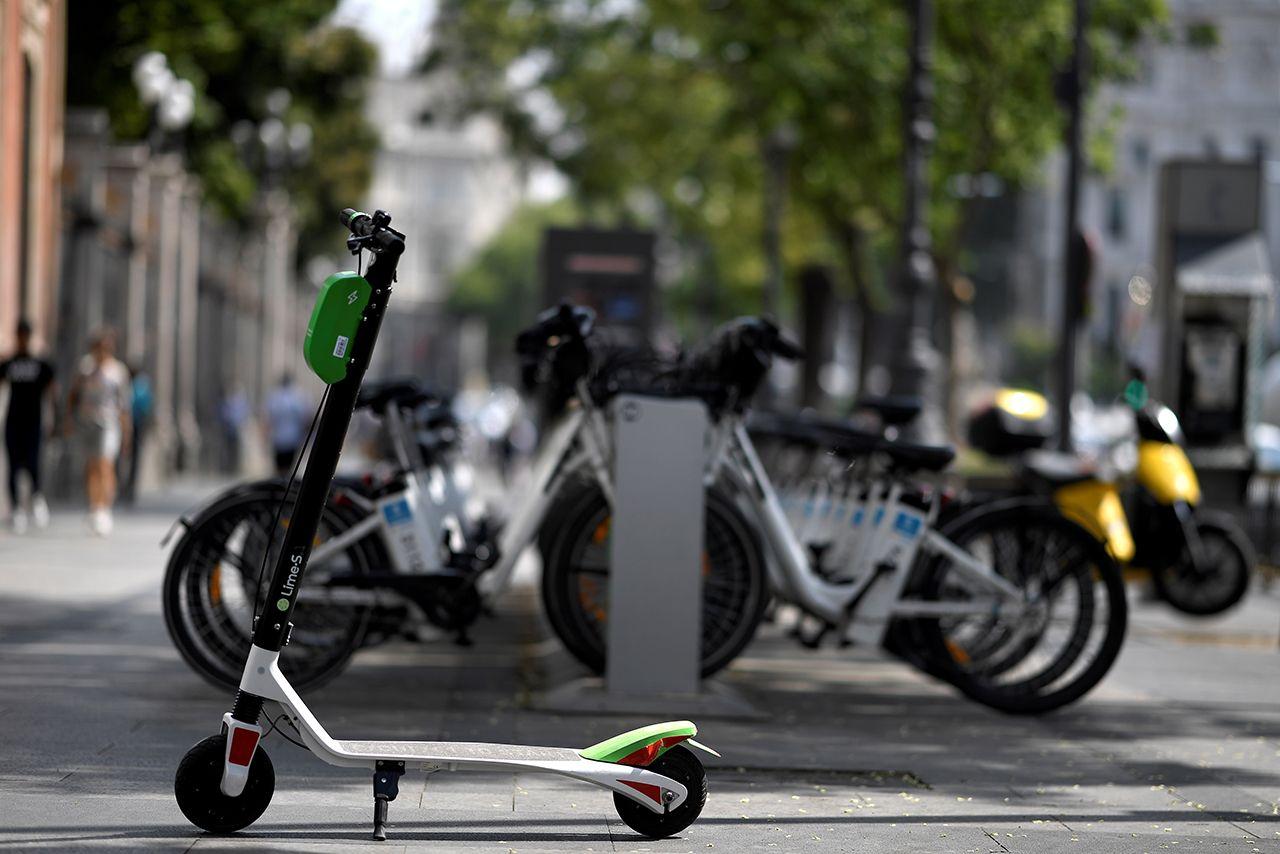 Elektro-Tretroller/ Madrid