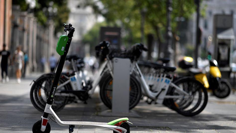 E-Tretroller in Madrid