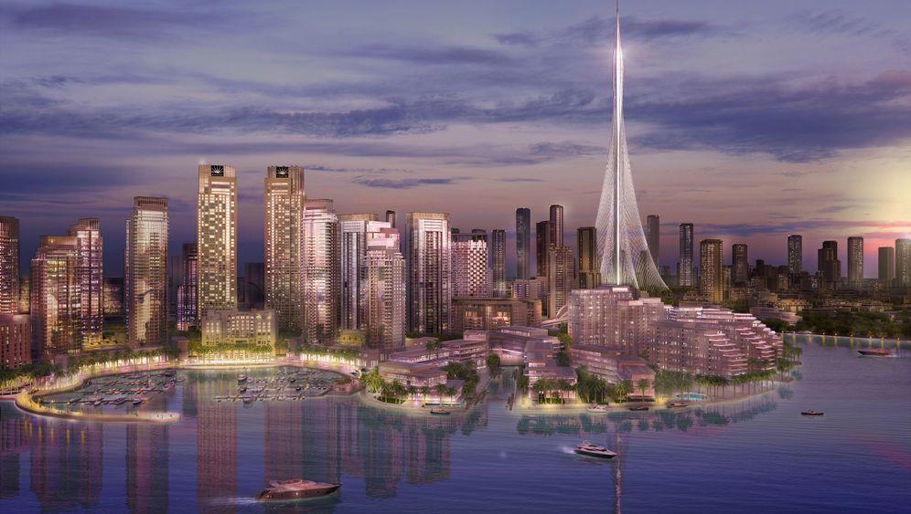 Aussichtsturm in Dubai: Das nächste Wahrzeichen, bitte