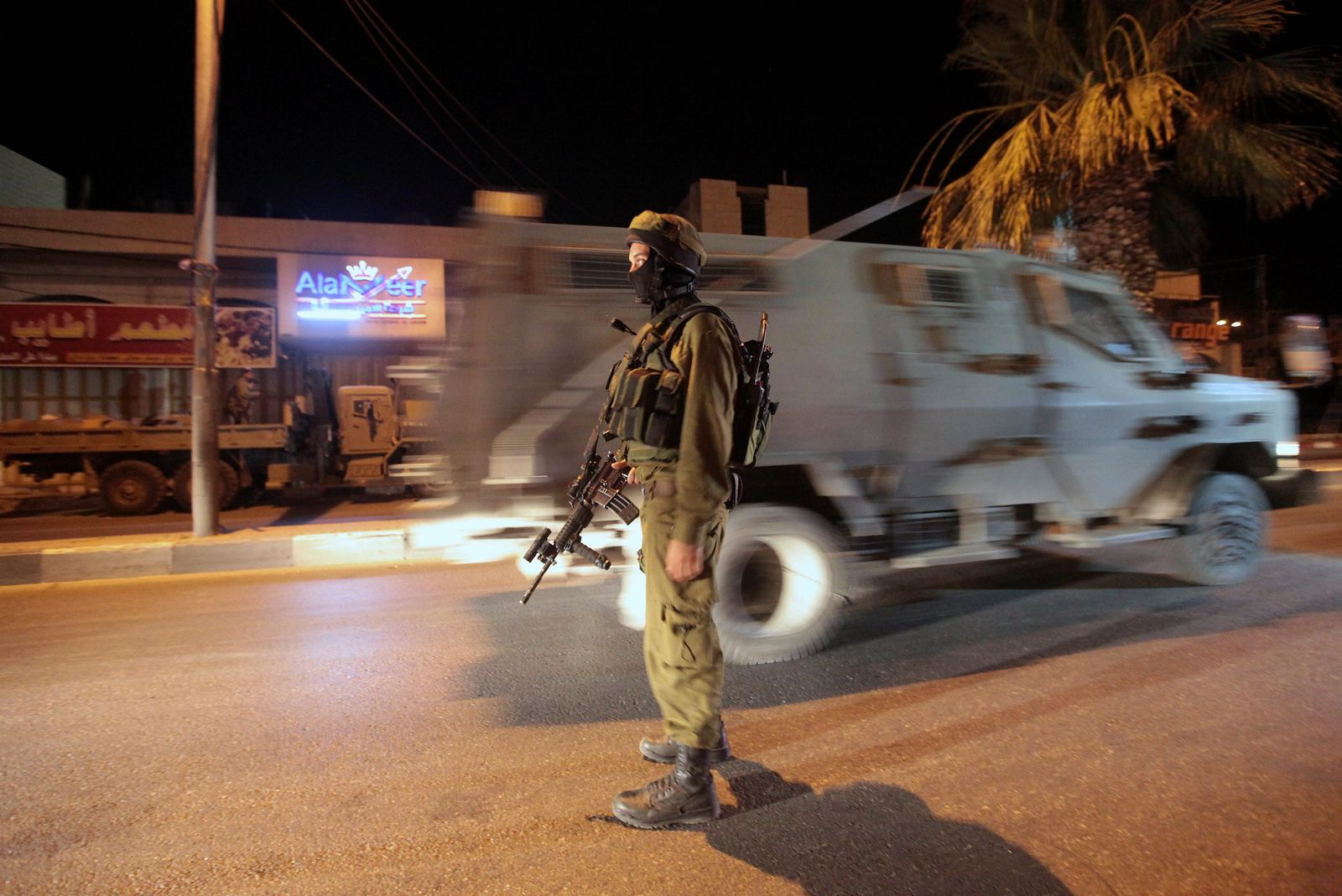 israel westjordanland soldat