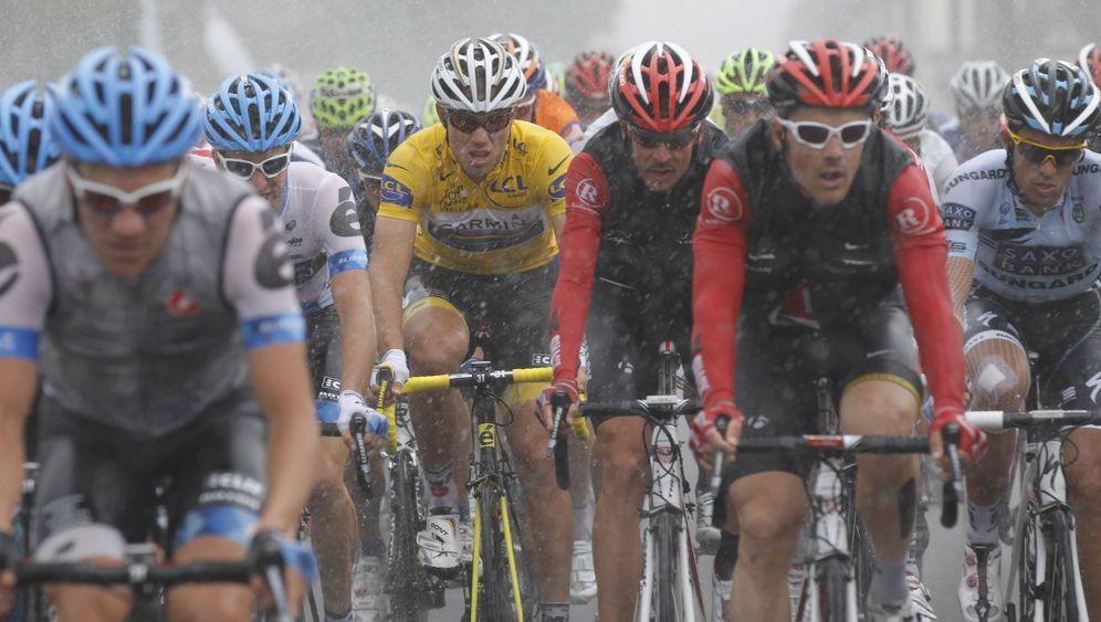Tour de France: Norweger siegt im Regenrennen