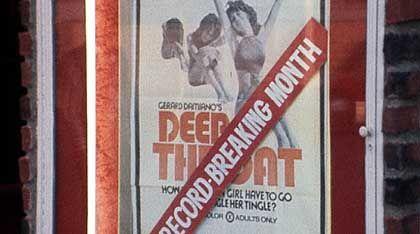 "Filmplakat des Porno-Klassikers ""Deep Throat"": Kulturrevolution goes Hardcore"