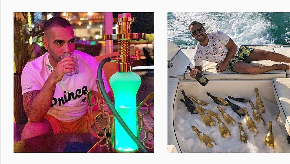 "Instagram-Account von Diplomatensohn Mohammed ""Sasha"" Sobhani: Frauen, Alkohol, Louis Vuitton"