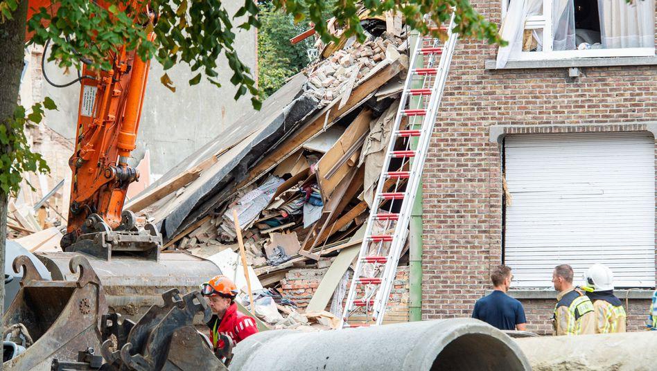 Zerstörtes Gebäude in Antwerpen: Es gibt Verletzte und Vermisste