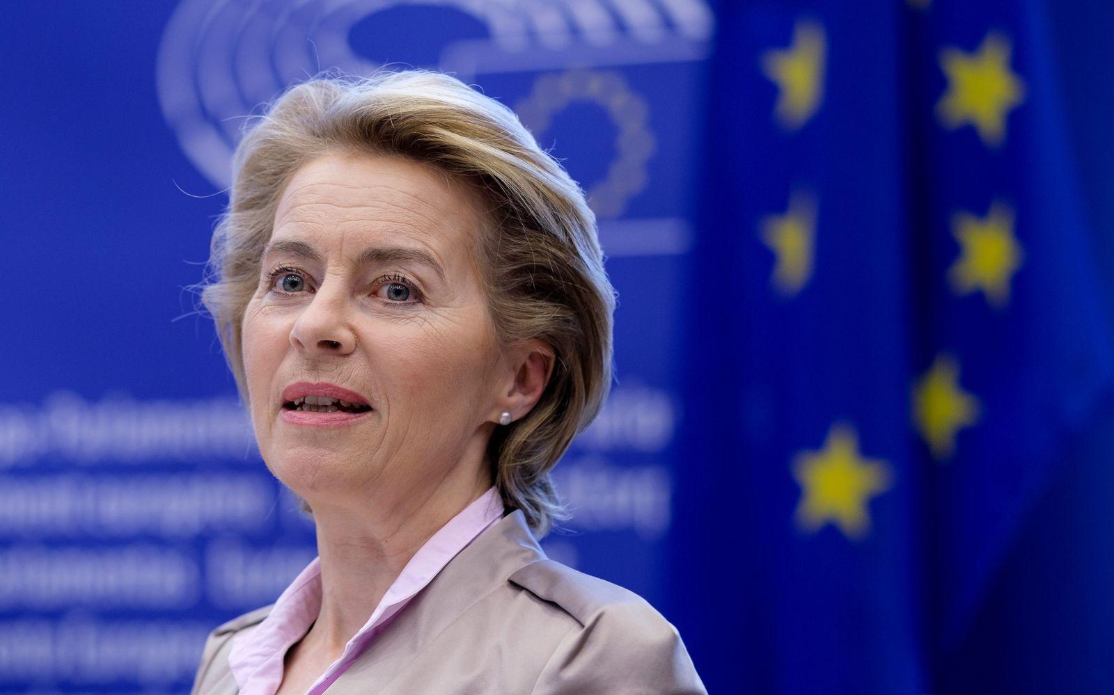 EU parliament conference of President, Brussels, Belgium - 23 Jun 2020