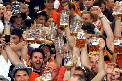 Even with less beer being consumed annually in Germany, Oktoberfest is still the country's claim to fame abroad.