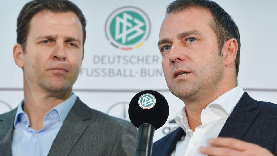 Oliver Bierhoff und Hans-Dieter Flick