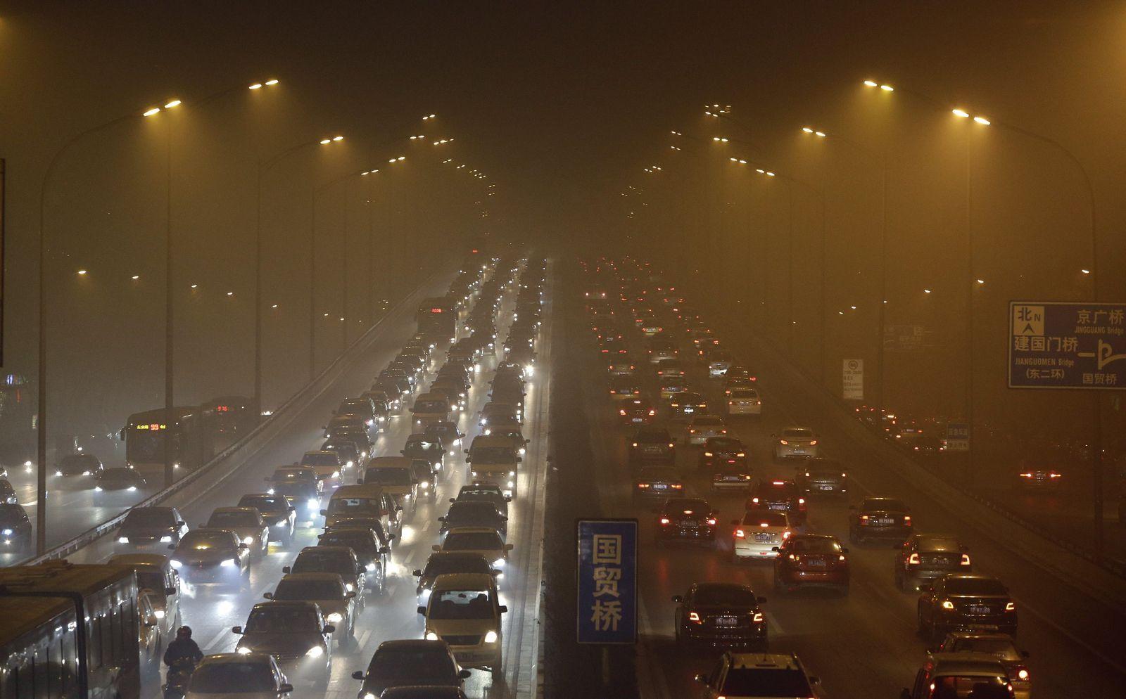 China / Smog / Luftverschmutzung