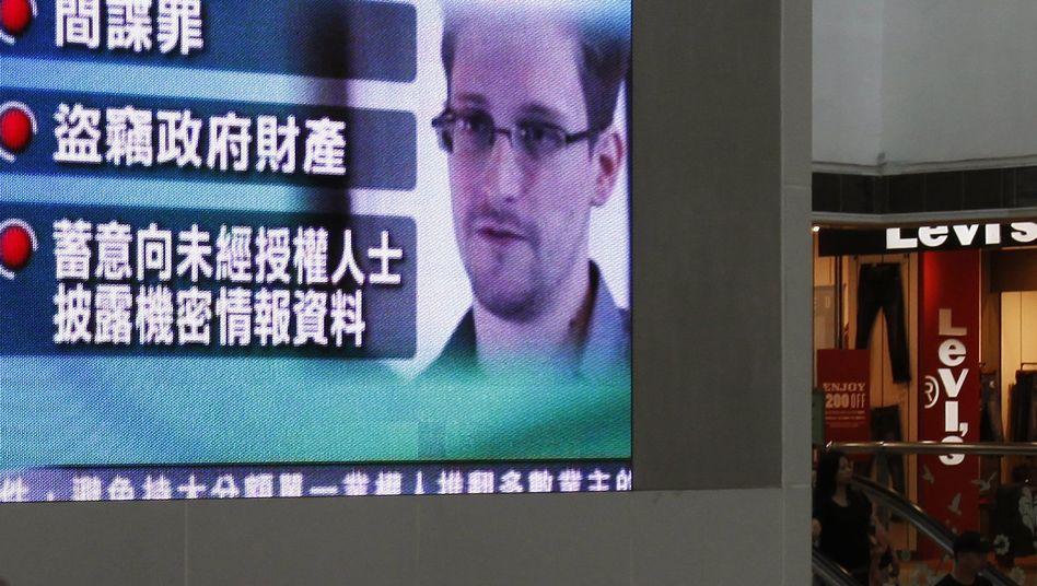 Edward Snowden: Auf dem Weg nach Moskau