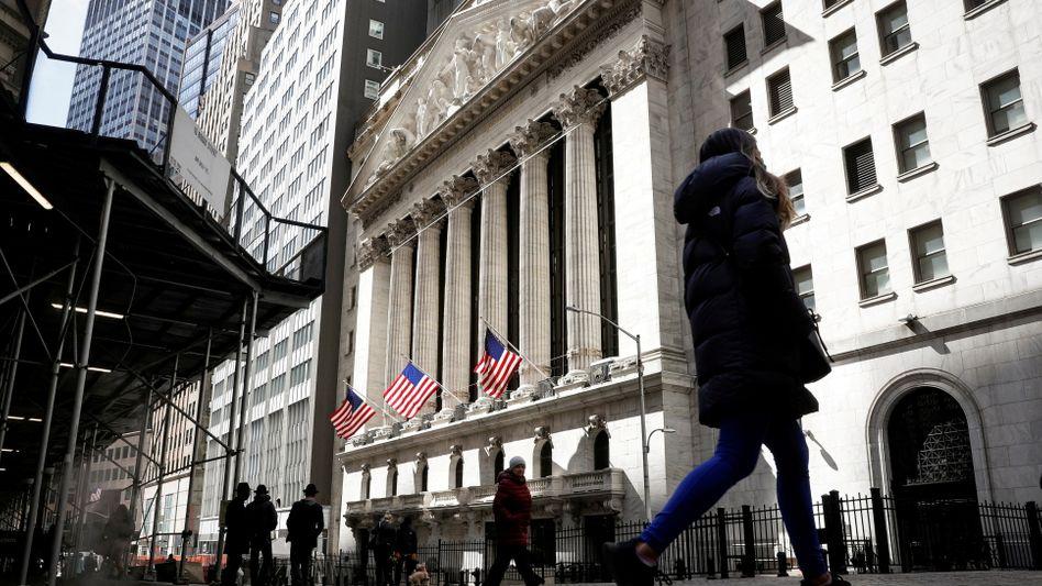 US-Börse New York Stock Exchange: Die US-Inflation steigt auf fünf Prozent