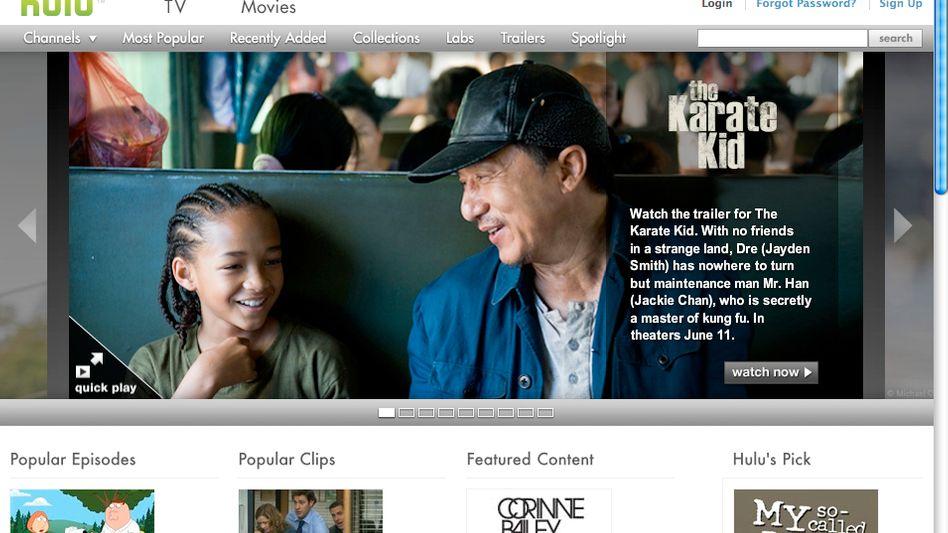 US-Portal Hulu: Mehrfach für Europa angestrebt, bislang stets gescheitert