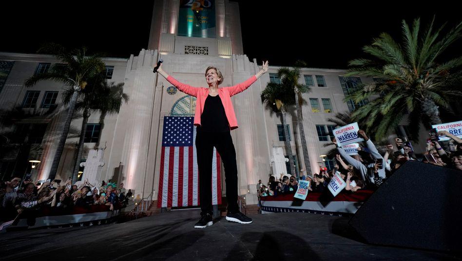 Senatorin aus Massachusetts: Elizabeth Warren