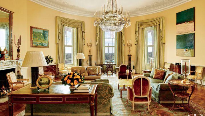 Bilder aus dem Weißen Haus: Daheim bei den Obamas