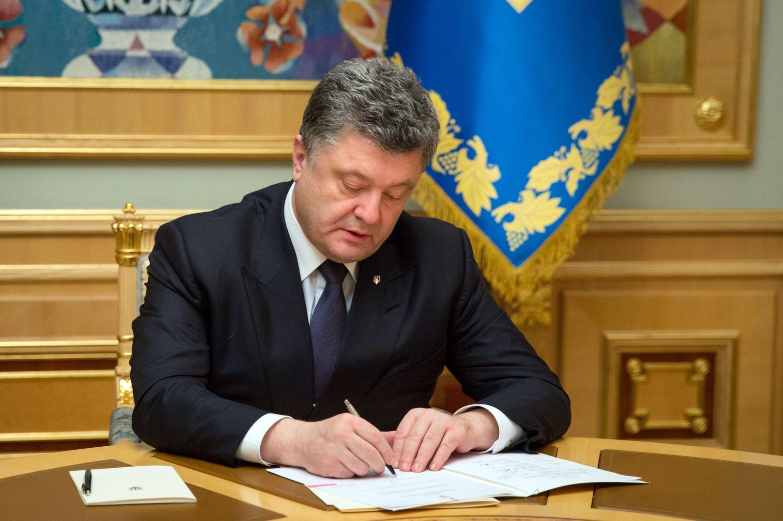 Ukraine / Poroschenko