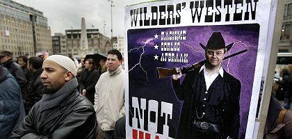 Proteste gegen Wilders (22. März in Amsterdam): Radikaler Liberaler
