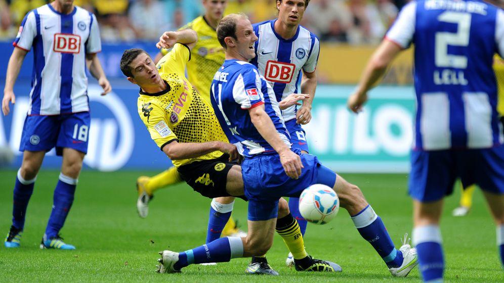 Bundesliga: Kagawa harmlos, Gomez eiskalt