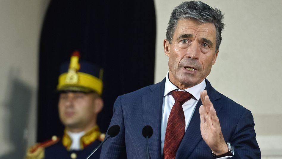 """Nato-Chef Rasmussen: """"Nicht einfach zurücklehnen"""""""