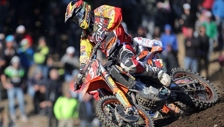 Motocross-Fahrer Ullrich: Siebter im Finale