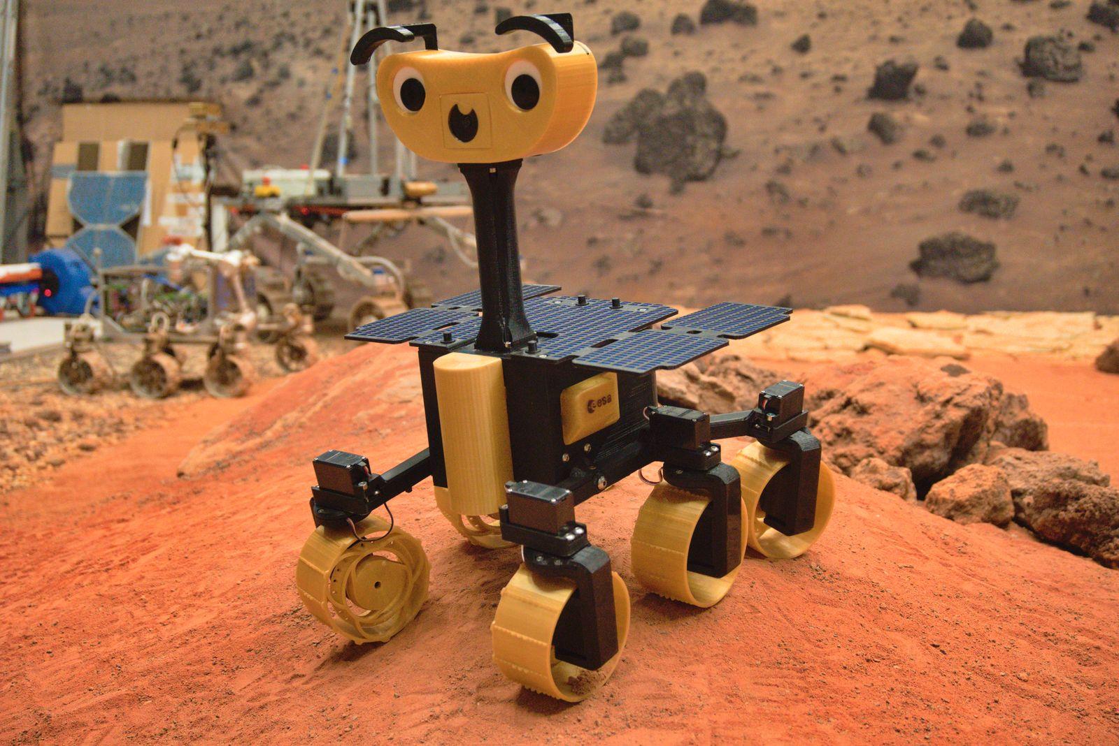 ESA / Mars-Roboter