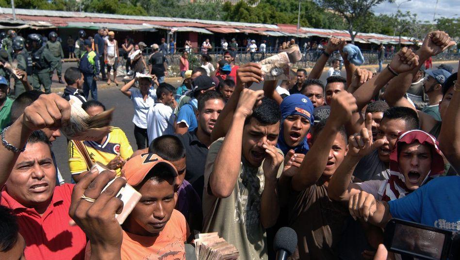 Hyperinflation: Venezuela gibt wichtigste Banknote wieder frei