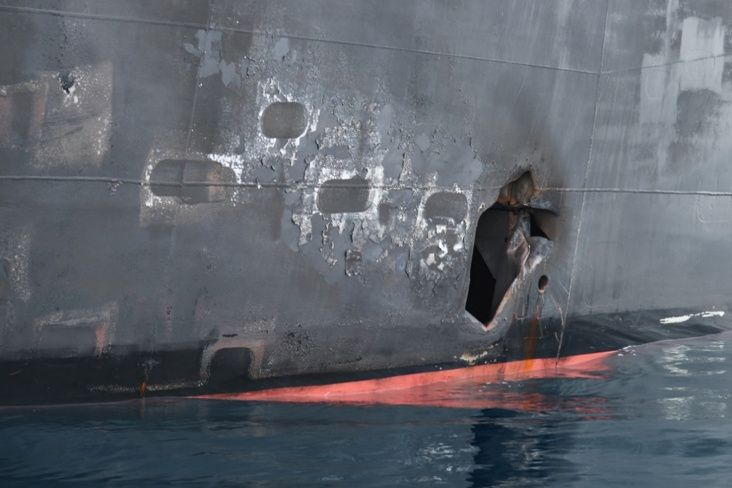 U.S. military releases new images from oil tanker attacks in Gulf of Oman
