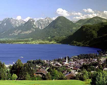 Wolfgangsee: Der zehn Kilometer lange See gehört zu Österreichs beliebtesten Urlaubsregionen