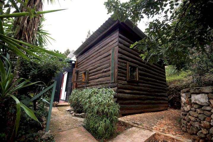 Le Corbusiers Hütte in Roquebrune-Cap-Martin ist das kleinste Gebäude auf der Weltkulturliste der UNESCO.