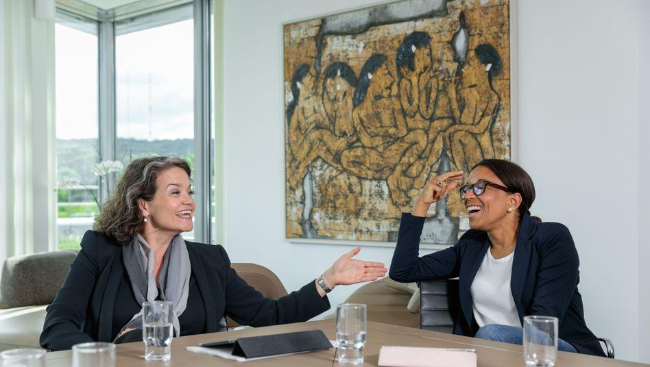 Topmanagerinnen Claudia Nemat, Janina Kugel