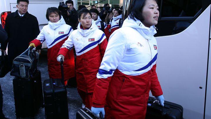 Olympia in Südkorea: Gemeinsam trainieren, gemeinsam antreten