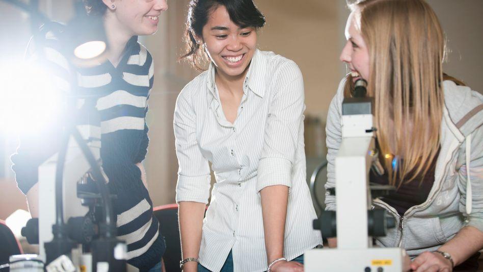 Forschernachwuchs: Junge Wissenschaftler kommen in der Physik am häufigsten zum Zug