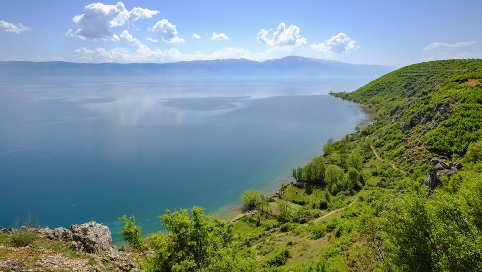 Blick auf den Ohridsee