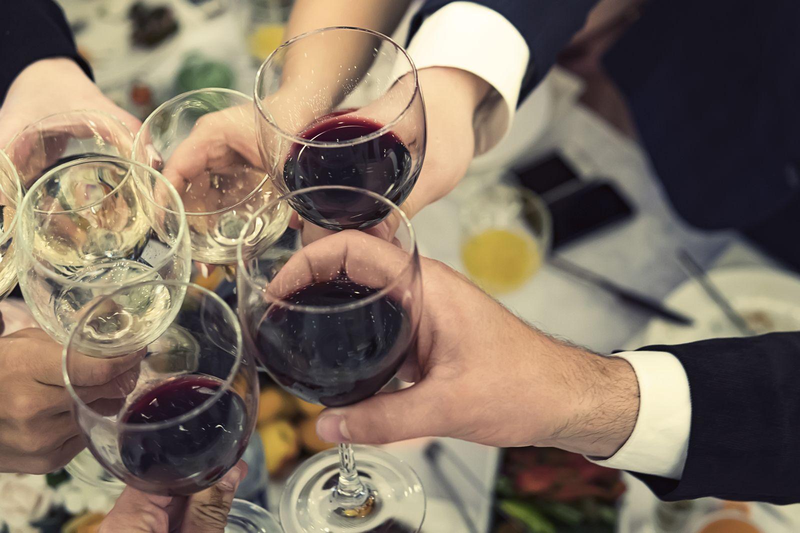 EINMALIGE VERWENDUNG Weihnachtsfeier / Firma / Trinken