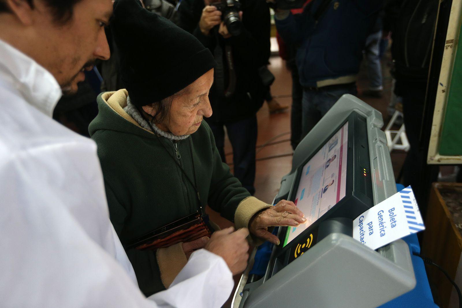 Wahlcomputer / Argentinien