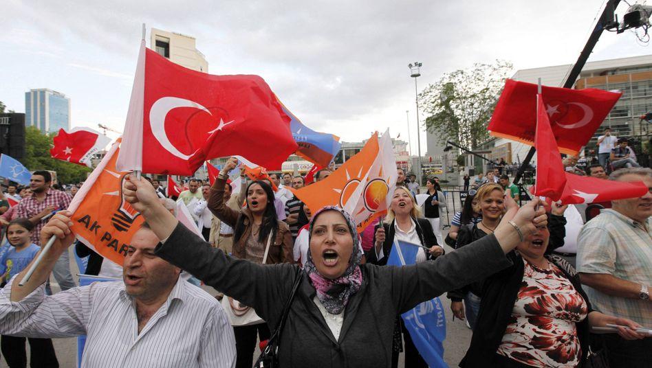 Wahlparty in der Türkei: Land im Aufschwung
