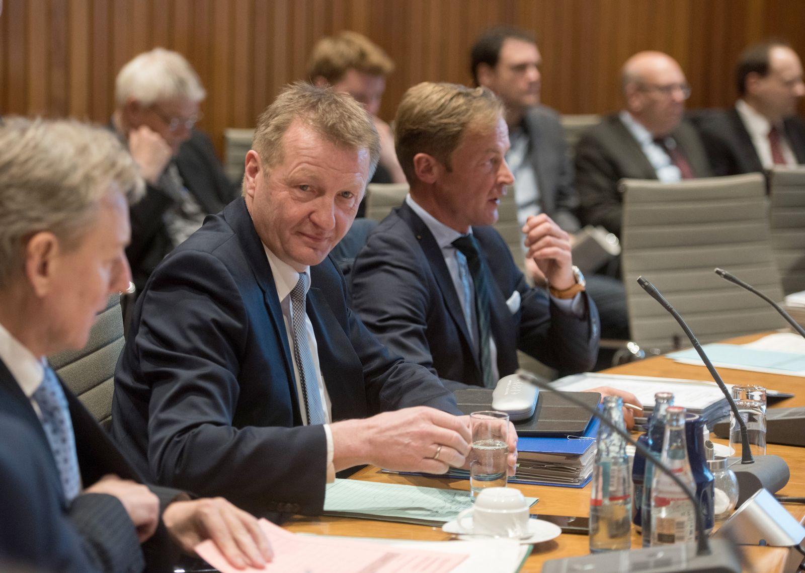 Sitzung des Innenausschusses des NRW-Landtags